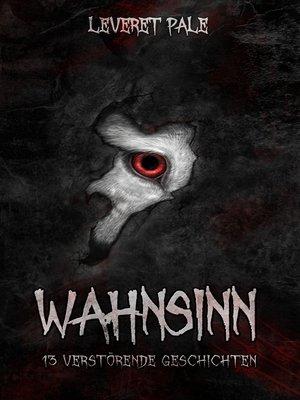cover image of Wahnsinn