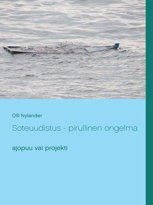 cover image of Soteuudistus --pirullinen ongelma