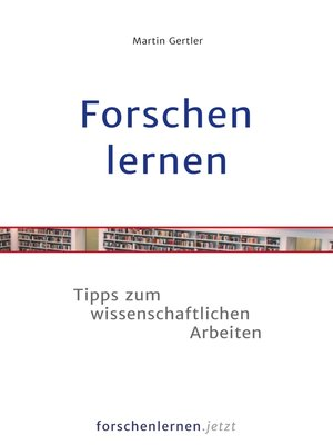 cover image of Forschen lernen