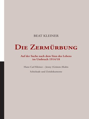 cover image of Die Zermürbung