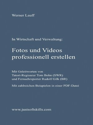 cover image of Fotos und Videos professionell erstellen