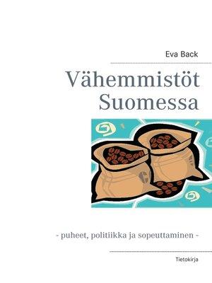 cover image of Vähemmistöt Suomessa