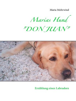 "cover image of Marias Hund ""DON JUAN"""