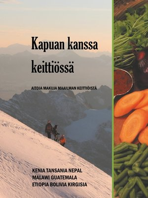 cover image of Kapuan kanssa keittiössä