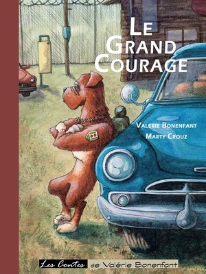 cover image of Le grand courage