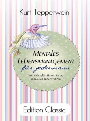 cover image of Mentales Lebensmanagement für jedermann