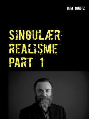 cover image of Singulær realisme part 1