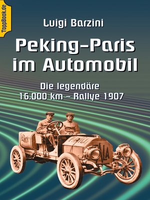 cover image of Peking--Paris im Automobil