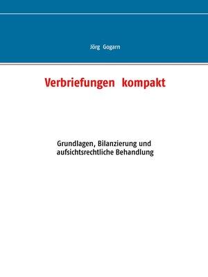 cover image of Verbriefungen  kompakt