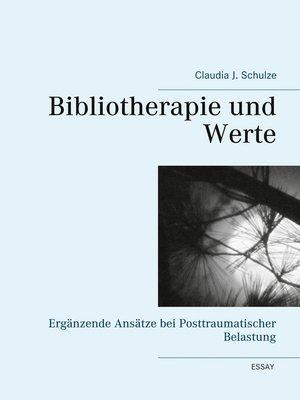 cover image of Bibliotherapie und Werte
