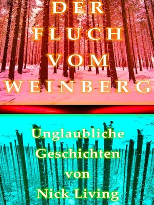 cover image of Der Fluch vom Weinberg