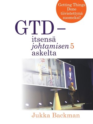 cover image of GTD--itsensä johtamisen 5 askelta