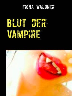cover image of Blut der Vampire