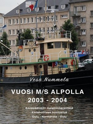 cover image of Vuosi M/S Alpolla 2003--2004