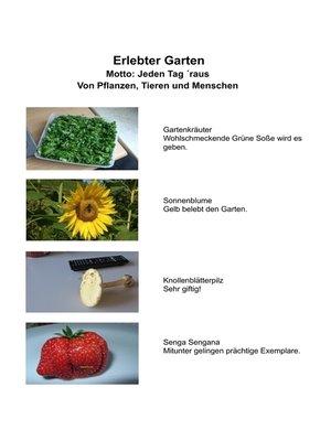 cover image of Erlebter Garten