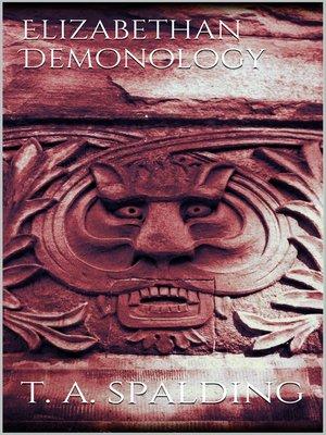 cover image of Elizabethan Demonology