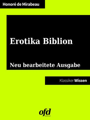 cover image of Erotika Biblion