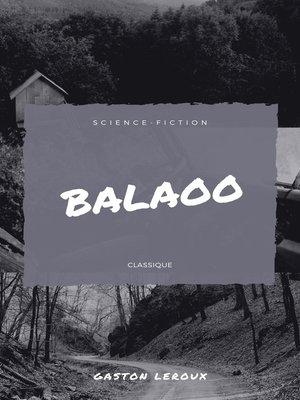 cover image of Balaoo