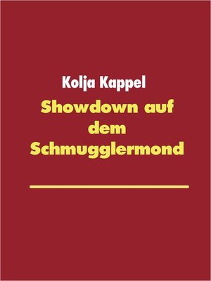 cover image of Showdown auf dem Schmugglermond