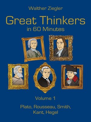 cover image of Great Thinkers in 60 Minutes, Volume 1