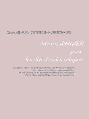 cover image of Menus d'hiver pour les diverticules coliques