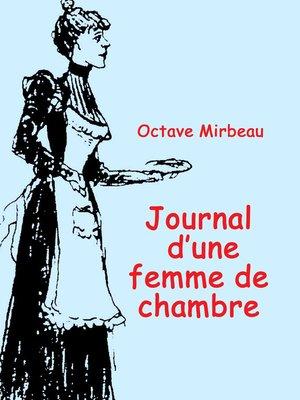 cover image of Le Journal d'une jeune femme de chambre