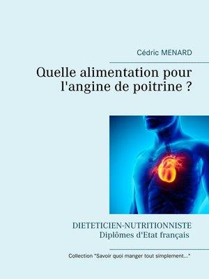 cover image of Quelle alimentation pour l'angine de poitrine ?