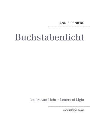 cover image of Buchstabenlicht