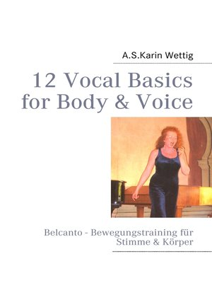 cover image of 12 Vocal Basics for Body & Voice