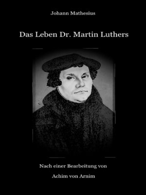 cover image of Das Leben Dr. Martin Luthers