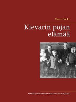 cover image of Kievarin pojan elämää