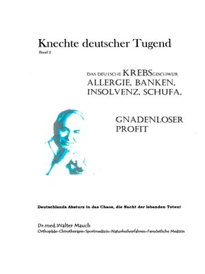 cover image of Knechte deutscher Tugend, Band II