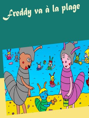 cover image of Freddy va à la plage