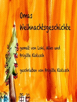 cover image of Omas Weihnachtsgeschichte