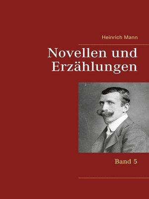 cover image of Novellen und Erzählungen