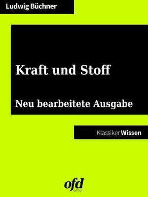 cover image of Kraft und Stoff