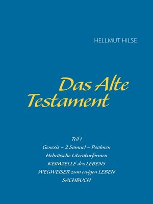 cover image of Das Alte Testament
