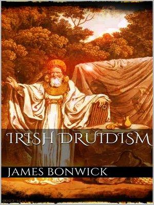 cover image of Irish druidism