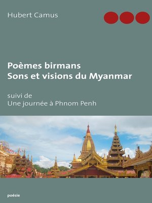 cover image of Poèmes birmans, Sons et visions du Myanmar