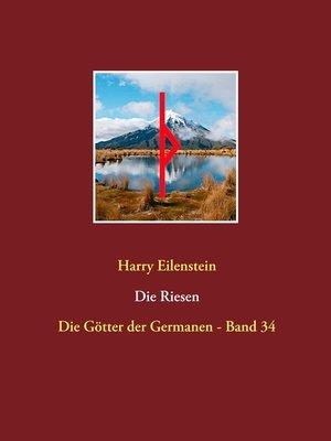 cover image of Die Riesen