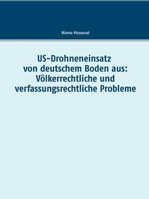 cover image of US-Drohneneinsatz von deutschem Boden aus