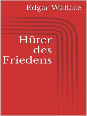 cover image of Hüter des Friedens