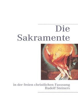 cover image of Die Sakramente