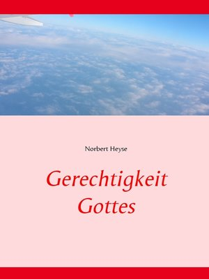 cover image of Gerechtigkeit Gottes
