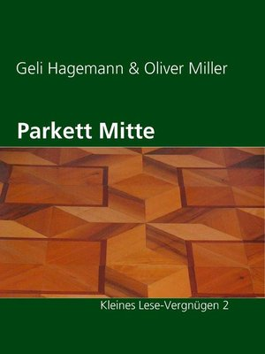 cover image of Parkett Mitte