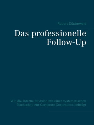 cover image of Das professionelle Follow-Up