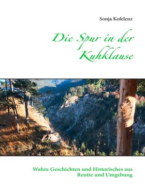 cover image of Die Spur in der Kuhklause