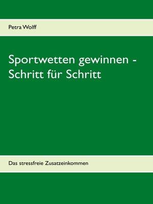 cover image of Sportwetten gewinnen--Schritt für Schritt