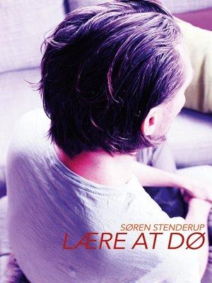 cover image of Lære at dø