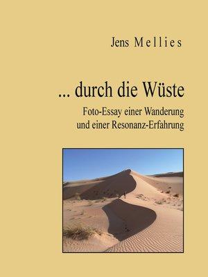 cover image of ... durch die Wüste